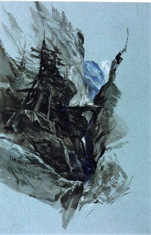 Via Mala | William James Muller | Oil Painting