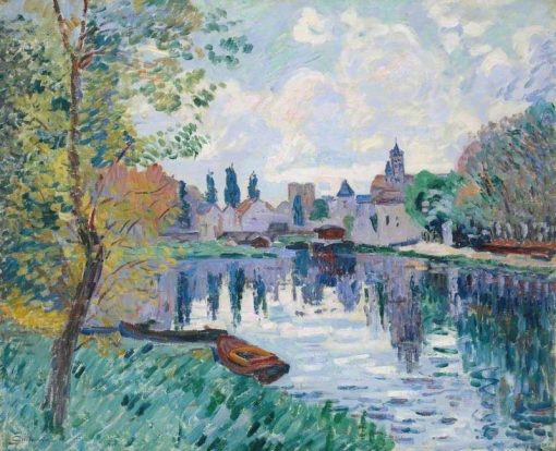 Moret-sur-Loing | Armand Guillaumin | Oil Painting