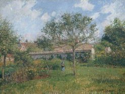 Corner of a Meadow at Eragny | Camille Pissarro | Oil Painting