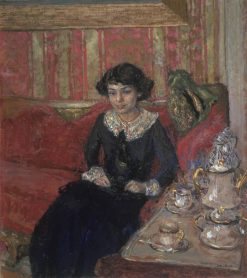 Girl in an Interior | Edouard Vuillard | Oil Painting