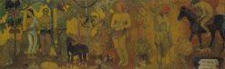 Faa Iheihe | Paul Gauguin | Oil Painting