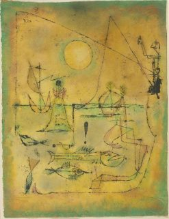 They're Biting | Paul Klee | Oil Painting