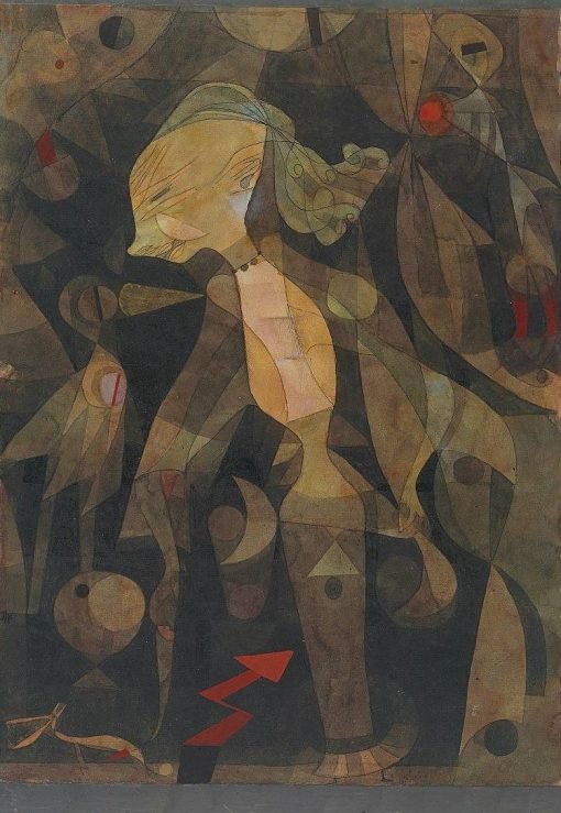 A Young Lady's Adventure | Paul Klee | Oil Painting