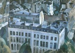 Study for 'The City' (Study for 'La ville') | Robert Delaunay | Oil Painting