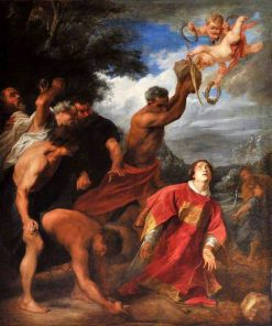 The Stoning of Saint Stephen | Anthony van Dyck | Oil Painting