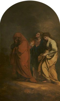 The Three Marys at the Sepulchre | Benjamin West | Oil Painting