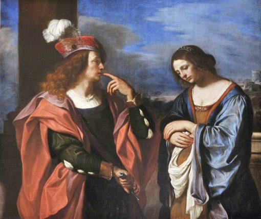 Absalom and Tamar | Guercino | Oil Painting