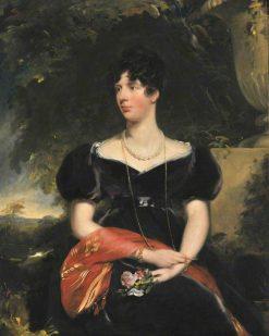 Elizabeth Sykes (1775-1853) Mrs Wilbraham Egerton | John Philip Simpson | Oil Painting