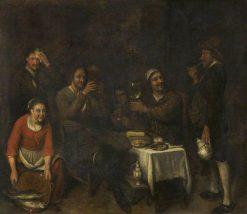 Peasants at Table | Philips Koninck | Oil Painting