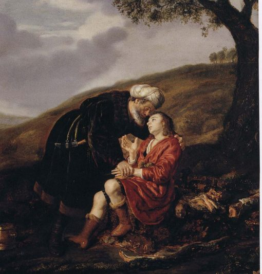 Abraham and Isaac Before the Sacrifice | Jan Victors | Oil Painting