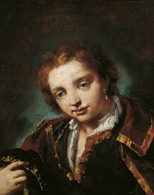 Portrait of a Young Man | Giovanni Antonio Guardi | Oil Painting