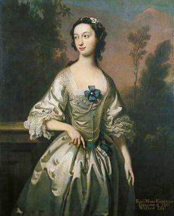 Frances Maria Fountayne   Joseph Highmore   Oil Painting