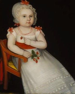 Mary Elizabeth Smith | Ammi Phillips | Oil Painting