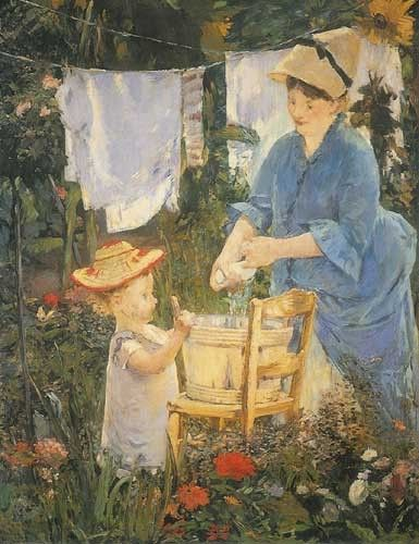 Le Linge  | Edouard Manet | Oil Painting