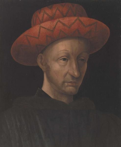 Copy of 'Portrait of Charles VII' | Jean Fouquet | Oil Painting