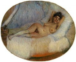 Nude Woman on a Bed | Vincent van Gogh | Oil Painting
