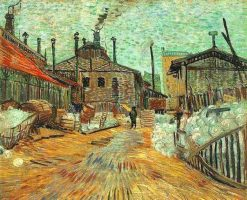 The Factory at Asnieres | Vincent van Gogh | Oil Painting