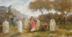The Garden of Delights 1 | Adolphe Joseph Thomas Monticelli | Oil Painting