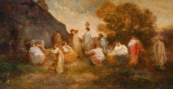 The Garden of Delights II | Adolphe Joseph Thomas Monticelli | Oil Painting