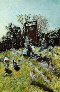 Landscape with Figures and Goats | Adolphe Joseph Thomas Monticelli | Oil Painting