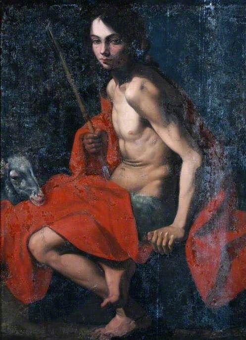Saint John the Baptist | Giovanni Battista Caracciolo | Oil Painting