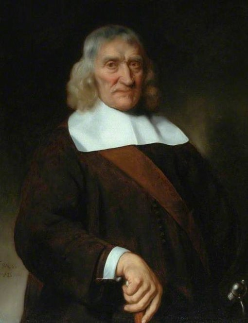 Portraif of a Venerable-Looking Old Man | Nicolaes Maes | Oil Painting
