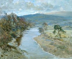 Extensive River Scene | Reginald Grenville Eves | Oil Painting