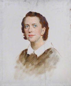 Female Portrait | Reginald Grenville Eves | Oil Painting