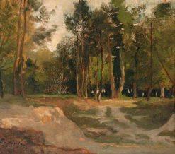 Le Fôret de Fontainbleau | Stanislas LEpine | Oil Painting