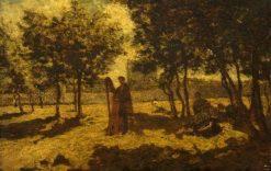 The Harpist | Adolphe Joseph Thomas Monticelli | Oil Painting