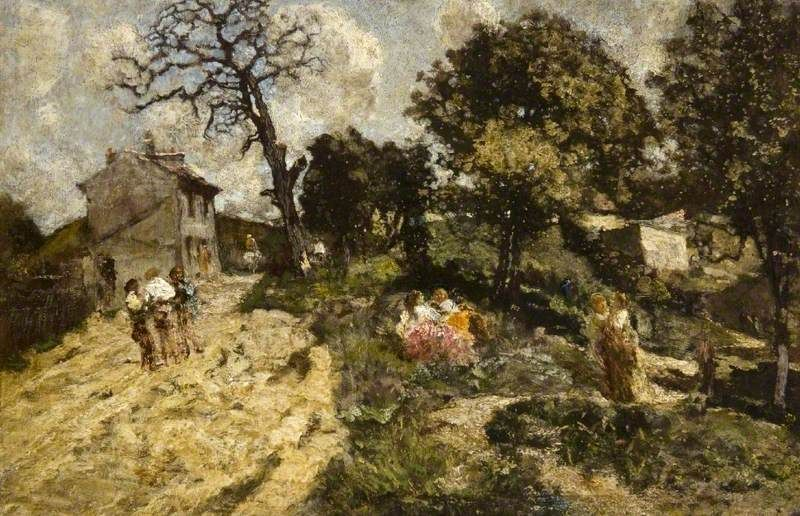 The New Vintage Painting | Adolphe Joseph Thomas Monticelli Oil Paintings