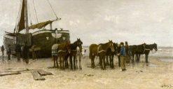 Scheveningen | Anton Mauve | Oil Painting