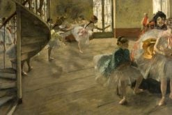 The Rehearsal | Edgar Degas | Oil Painting