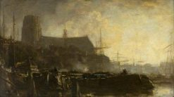 A Souvenir of Dordrecht | Jacob Maris | Oil Painting