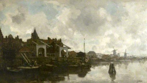 Amsterdam | Jacob Maris | Oil Painting