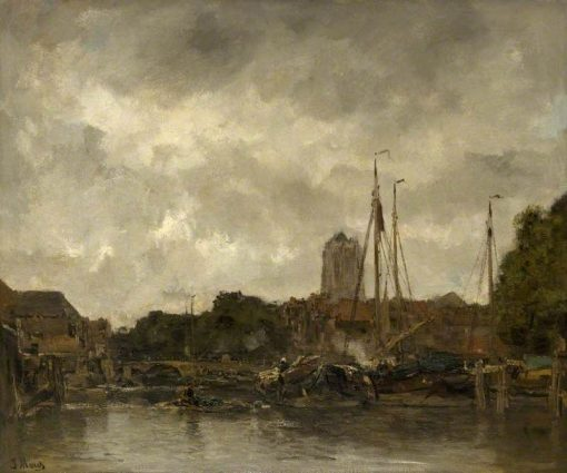 Dordrecht | Jacob Maris | Oil Painting