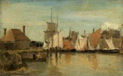 Shipping | Jean Baptiste Camille Corot | Oil Painting