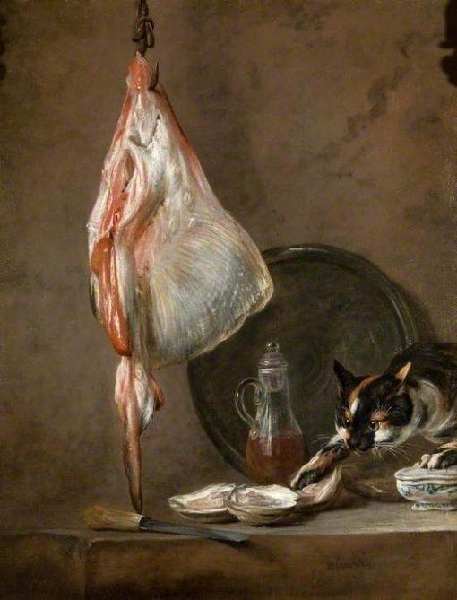 The Ray   Jean Baptiste Simeon Chardin   Oil Painting