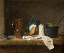Still Life | Jean Baptiste Simeon Chardin | Oil Painting