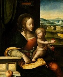 Virgin and Child | Joos van Cleve | Oil Painting