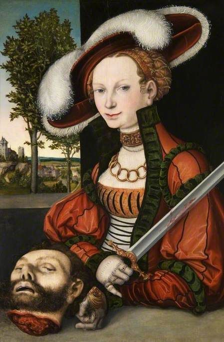 Judith with the Head of Holofernes | Lucas Cranach the Elder | Oil Painting