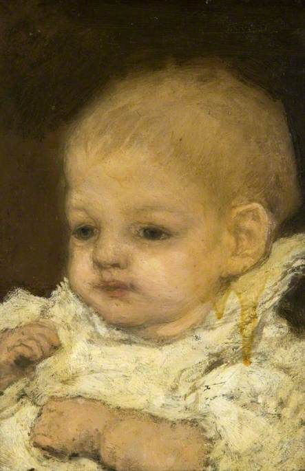 Lessore's Child | Matthijs Maris | Oil Painting