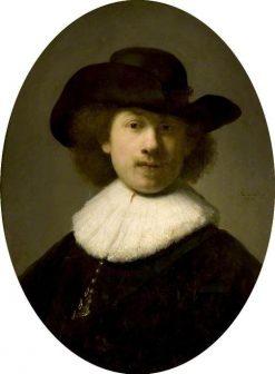 Portrait of the Artist as a Burgher(also known as 'Self Portrait') | Rembrandt van Rijn | Oil Painting