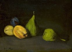 Still Life with Fruits | ThEodule Augustin Ribot | Oil Painting