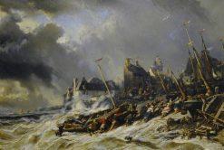 Hurricane before Saint-Malo