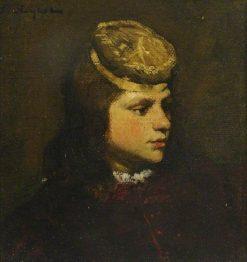Head of a Boy | Ferdinand Roybet | Oil Painting
