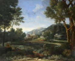 An Italianate River Landscape | Gaspard Dughet | Oil Painting