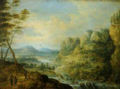 River Scene   Lucas van Uden   Oil Painting