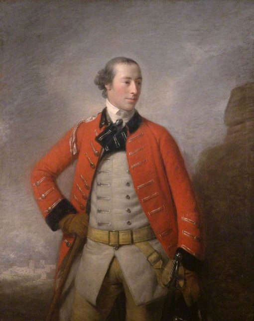 Captain Sir William-Peer Williams | Allan Ramsay | Oil Painting