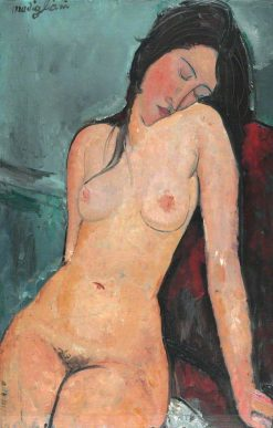 Female Nude | Amedeo Modigliani | Oil Painting